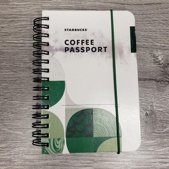 Starbucks Coffee Passport book